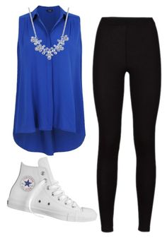 """""""Running out of titles"""" by livvie47 on Polyvore featuring Givenchy and Converse"""
