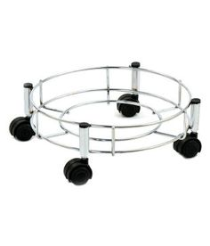 Stainless Steel Kitchen Cylinder Trolley High Durability Wheels Easily Movable for sale online Buy Kitchen, Kitchen Hacks, Kitchen Tools, Globe Art, Rust Free, Stainless Steel Kitchen, Home Decor Styles, Bohemian Decor, Chrome Finish