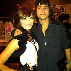 Adam Sevani & Alyson Stoner from Step Up 5. Coming out in 2014
