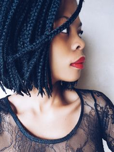 Bob box braid / protective style