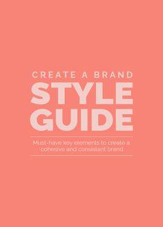 Create A Brand Style Guide With Allyssa Barnes http://www.connorkaylinandcodesigns.com/blog/create-a-brand-style-guide?utm_content=bufferbc44c&utm_medium=social&utm_source=pinterest.com&utm_campaign=buffer via Connor K. Hollis