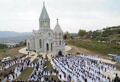 My Big, Fat, Armenian Wedding! …in Karabakh (St. Ghazanchetsots church)