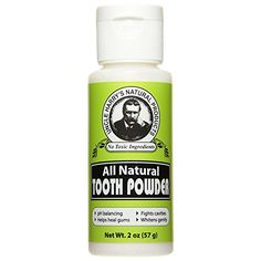 Uncle Harrys Natural Tooth Powder 2 Oz -- Want additional info? Click on the image.