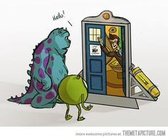 funny Monsters Inc Doctor Who