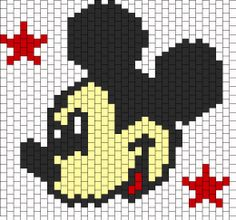 Search Results: Mickey Mouse Bead Patterns Pony Bead Patterns, Kandi Patterns, Peyote Patterns, Beading Patterns, Cross Stitch Patterns, Beaded Cross Stitch, Peyote Stitch, Mickey Mouse, Peyote Beading