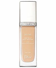 Diorskin Nude Skin-Glowing Makeup, 30 ML - Dior Makeup - Beauty - Macy's