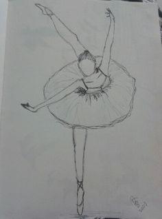 #bailarina #draw #nanquin