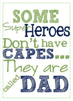 Don't wait till Father's Day, tell your dad how much he means to you now! This is a real card (not an e-card). Type your message and send this card now.