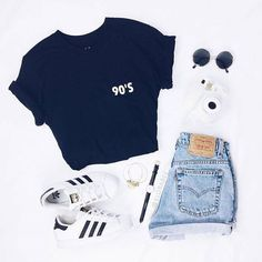 New trend dress 20190315 cute summer outfits, short outfits, trendy outfits Cute Casual Outfits, Short Outfits, Stylish Outfits, Dress Casual, Simple Outfits, Teen Fashion Outfits, Teenage Outfits, Shorts Outfits For Teens, Fashion Clothes