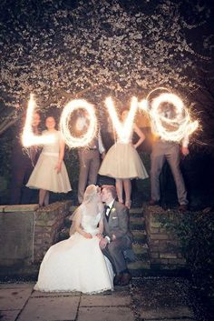 wedding sparklers sparkler send off wedding ideas / http://www.himisspuff.com/sparkler-wedding-exit-send-off-ideas/2/