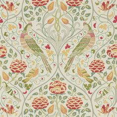 The wallpaper Seasons By May - 216687 from William Morris is a wallpaper with the dimensions x 10 m. The wallpaper Seasons By May - 216687 belongs to the po Linen Wallpaper, Interior Wallpaper, Wallpaper Online, Wallpaper Roll, Bedroom Wallpaper, Wallpaper Ideas, William Morris Wallpaper, Morris Wallpapers, Boutique Deco