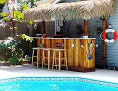 how to build a tiki bar - Google Search