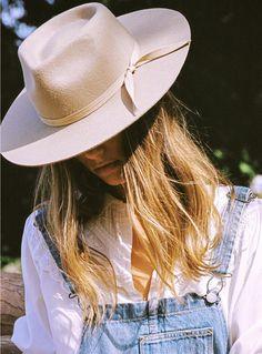 The Zulu Flat Brimmed Hat