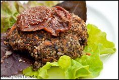 Black Bean Quinoa Burgers