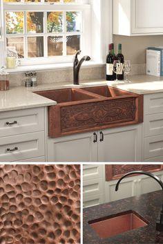 109 delightful copper kitchen sink ideas images in 2019 copper rh pinterest com