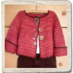NobleKnits.com - Heirloom Stitches - Raggedy Raglan Girls Sweater Knitting Pattern, $6.95 (http://www.nobleknits.com/heirloom-stitches-raggedy-raglan-girls-sweater-knitting-pattern/)