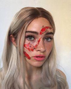 What is better filter or makeup 💄? Crazy Makeup, Cute Makeup, Glam Makeup, Makeup Inspo, Makeup Art, Makeup Inspiration, Beauty Makeup, Hair Makeup, Maquillage Normal