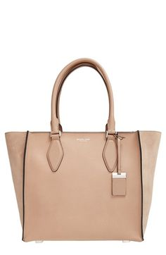 Michael Kors 'Large Gracie' Leather Tote