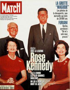 Rose Kennedy et Jacqueline Kennedy Rose Kennedy, Joe Kennedy Sr, Caroline Kennedy, Irish Catholic, John Fitzgerald, Paris Match, Jfk, Historical Photos, Presidents