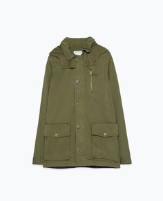 Image 6 of MILITARY-STYLE PARKA from Zara