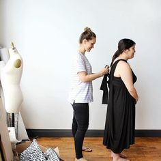 #tbt to our photoshoot of the Maxi Cardi with our plus-sized model. Kristi effortlessly does the elegant one shoulder dress on Jessica from @theinbetweenie. . Two of our most popular Chrysalis Cardis are coming back in stock. The Black Maxi Chrysalis Cardi (shown above) and the regular Plum Purple Chrysalis Cardi. Get yours before theyre gone. Limited quantities in this production run! . Ethically #madeincanada . . . #encircled #canada #toronto #eco #ethical #ethicalfashion #mindfulliving… One Shoulder, Shoulder Dress, Good Energy, Plum Purple, Black Maxi, Plus Size Model, Mindful Living, Fashion Company, Ethical Fashion