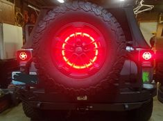 LED spare tire light, nice bright visible brake light, 85 pcs brilliant ring of torch-red to grab the full attention, fits Jeep Wrangler JK 2007 Jeep Wrangler, Jeep Xj, Jeep Rubicon, Jeep Truck, Jeep Wrangler Unlimited, Jeep Wrangler Accessories, Jeep Accessories, Jeep Lights, Suzuki Wagon R