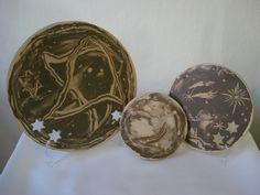 Jogo de Mandalas - Estrelas viajantes. Nerikomi, inserção e vazado - Loja virtual: www.artbydarlene.elo7.com.br