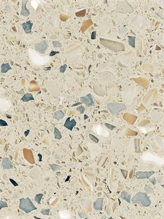 For the beach cottage...sea and sand colours...Recycled glass countertop—sustainability at its finest...