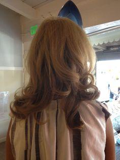 Halo blow dry bar hair