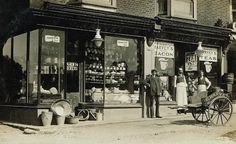 Harvey's Grocers Store Lower Green Rd Rusthall 1908 Would later in 1938 become F.Tom Murton's business until 1965 ( a good friend to my Mother & Father he and his wife Freda lived nxt door to my boyhood home in Nelson Rd Hawkenbury) Amazing Photography, Photography Poses, Nature Photography, Old Pictures, Old Photos, Camden Road, Mothering Sunday, Tunbridge Wells, War Dogs