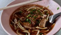 Duck Noodles With a Difference at Chalawan Khao Man Gai Charoen Nakhon.