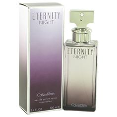 Eternity Night by Calvin Klein 3.4 oz Eau De Parfum (Limited Edition) WOMEN NIB #CalvinKlein