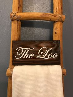 The Loo Sign, The Loo, Bathroom Sign, Bathroom Decor, British Bathroom Sign by TwentyNineFoxes on Etsy https://www.etsy.com/listing/478958368/the-loo-sign-the-loo-bathroom-sign