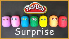Disney surprise eggs with Play-Doh