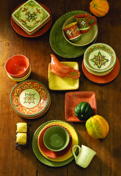 Artimino #fall #dinnerware & Carynthum Square Dinnerware | Dinnerware Squares and Tablewares