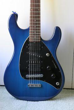 Steve Morse MusicMan Guitar www.rocktheory.net/2012/06/steve-morse-musicman-guitar.html