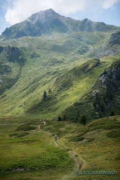 Biken in Crans Montana - Col du Cou - Langer anstieg zum Brasilian Trail