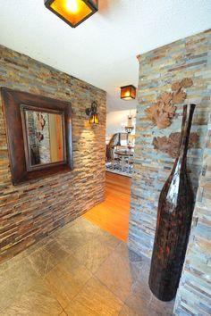 Dry Stack Slate - Dovetail Interiors Design for Haliburton Living