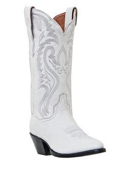 so many cowgirls and brides have been asking for white boots