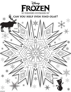 Free Disney Frozen Coloring Sheets and Activities - I am a Disney Nerd