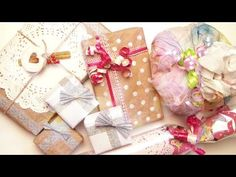 DIY: Gift Wrapping Ideas | Birthday | Christmas | Valentine's Day | ♥ - YouTube