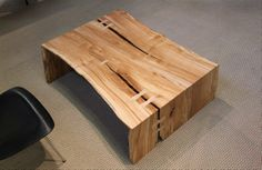 "Urban Hardwoods Furniture - Seattle, maple coffee table 49"" x 35"" x 16""h / $3700"