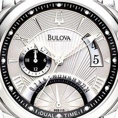 #bulova #classic #orologio #dualtime #96B110 #Aquista #ONLINE € 246 http://www.gioiellivarlotta.it/product.php?id_product=32