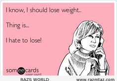 large I KNOW I SHOULD LOOSE WEIGHT .... loose weight quotes