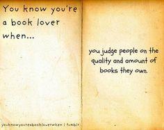I'm judging you.