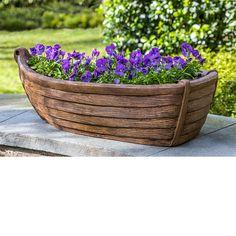 Rowboat Planter | Kinsey Garden Decor