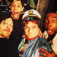 Amc Walking Dead, Fear The Walking Dead, Snl Cast Members, Tom Payne, Colson Baker, Melissa Mcbride, Ray Ban Men, Perfect People, Stuff And Thangs