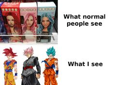 Dragon Ball hair