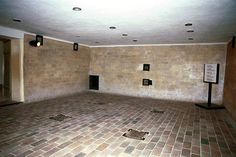 The gas chamber at Dachau, the most eerie room I have ever been in, in my life.