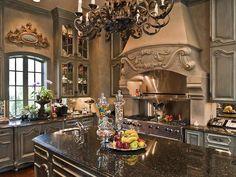 kitchen ideas...beautiful kitchen!!